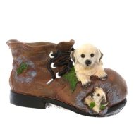 Boot Planter - Dog