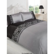 Nuveau Flock King Duvet Set