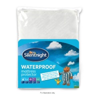Silentnight Waterproof Mattress Protector - Double