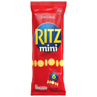 Ritz Mini Crackers Snack Packs 6pk
