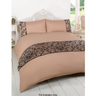 Taff Flock Double Duvet Set