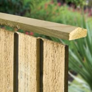 Feather Edge Capping Rail 6ft