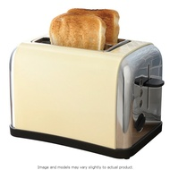 Prolex 2 Slice Toaster - Cream