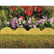 Scalloped Garden Edging Buff