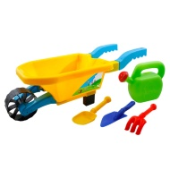 Childrens Toy Wheelbarrow Set