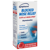 Galpharm Blocked Nose Relief Spray 15ml