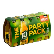 J2O Party Pack 10x250ml Orange & Passion Fruit