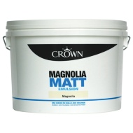 Crown 10L Magnolia Matt Emulsion