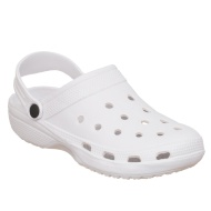 Ladies Clogs - White