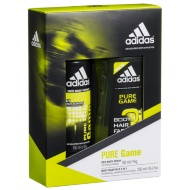Adidas Pure Game Deo Body Spray & Shower Gel 2pk