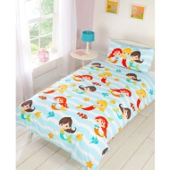 Single Duvet Set - Mermaid