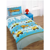 Boys Single Duvet Set Construction