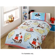 Boys Single Duvet Set Pirates