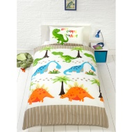 Single Duvet Set - Dinosaurs