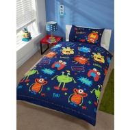 Single Duvet Set - My Little Monsters