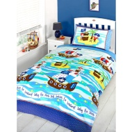Single Duvet Set - Ship Ahoy