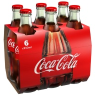 Coca Cola Bottle 6 x 330ml Pack