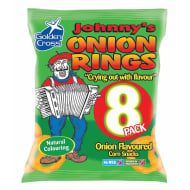 Johnny's Onion Rings 8pk