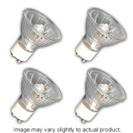 4 Pack GU10 Halogen Bulbs 50w
