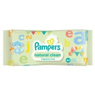 Pampers Fragrance Free Baby Wipes 64pk
