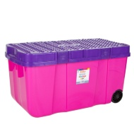 Deluxe Storage Box with Wheels 100L