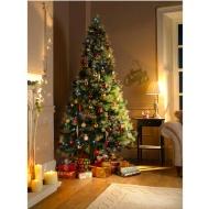 B&M: Christmas Trees | Artificial, Pre-Lit, Fibre Optic, 7ft Xmas Trees