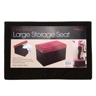 Croc Effect Large Rectangle Storage Seat