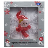 Light Up Character Snowflake Silhouette