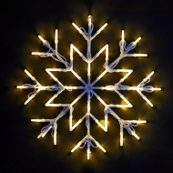 Snowflake Christmas Light 37 x 37cm