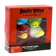 Angry Birds Fuzzy Feather Flingers 4pc Set