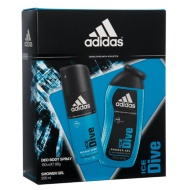 Adidas Ice Dive Deo Body Spray & Shower Gel 2pk