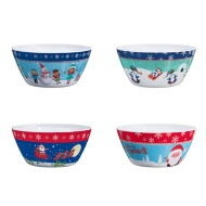 Melamine Christmas Bowl