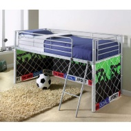Kids Midsleeper Bed - Football