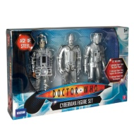 Doctor Who 3 Pack Cyberman Figure Set