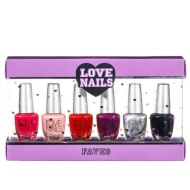 Love Nails Nail Set 6pk - Faves