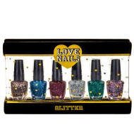 Love Nails Nail Set 6pk - Glitter