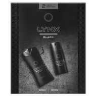 Lynx Black Deodorant & Shower Gel Set 2pc