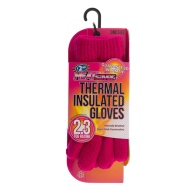 HEATsaver Ladies Thermal Insulated Gloves - Pink