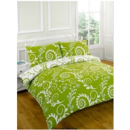 Blue Greens Duvet Assorted Double Drayton Green