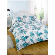 Blue Greens Duvet Assorted Double Sophie Blue