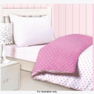 Mini Hearts Duvet Single