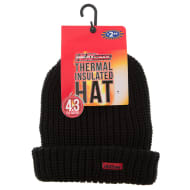 HEATsaver Mens Thermal Insulated Hat - Black
