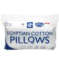 Home Comforts Egyptian Cotton Pillows 2pk