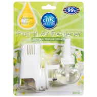 AirScents Plug-in Air Freshener - Jasmine & Water Lily 20ml