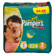 Pampers Nappies Midi 22