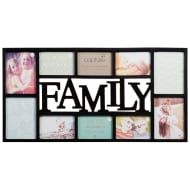 Family Multi Aperture Photo Frame 10pc