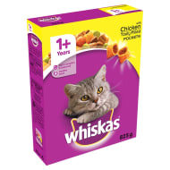 Whiskas Tasty Filled Pockets Chicken 825g