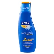 Nivea Moisturising Sun Cream Factor 15 200ml
