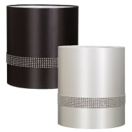 Chicago Diamante Band Cylinder Light Shade