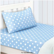 Blue Star Sheet Set Single